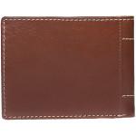Pánska kožená peňaženka SEGALI 70078 tmavý koňak