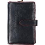 Dámská kožená peněženka SEGALI 3743 čierna/červená