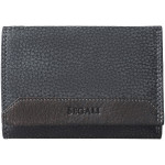 Dámska kožená peňaženka SEGALI 100 čierna/hnedá WO