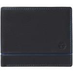 Pánska kožená peňaženka SEGALI 1806 čierna / modrá