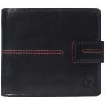 Pánska kožená peňaženka SEGALI 150721 čierna