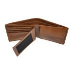 Pánska kožená peňaženka SEGALI 70076 lt. koňak