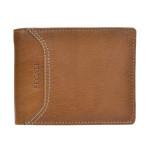 Pánska kožená peňaženka SEGALI 70079 lt. koňak
