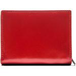 Dámska kožená peňaženka SEGALI 61420 červená/čierna