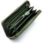 Dámska kožená peňaženka SEGALI 4989 W zelená