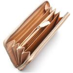 Dámska kožená peňaženka SEGALI 1084 lt. béžová/čierna