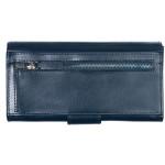 Dámska kožená peňaženka SEGALI 70090 modrá