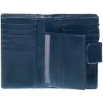 Dámska kožená peňaženka SEGALI 70092 modrá