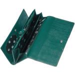 Dámska kožená peňaženka SEGALI 10027 safiano zelená