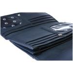 Dámska kožená peňaženka SEGALI 10027 tm. modrá