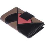 Dámska kožená peňaženka SEGALI 10063 čierna