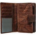 Dámska kožená peňaženka SEGALI 9023A georgia hnedá