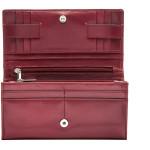 Dámska kožená peňaženka SEGALI 6362V05 cherry red
