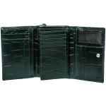 Dámska kožená peňaženka SEGALI 910 19 9510 zelená