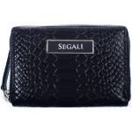 Dámska kožená peňaženka SEGALI 910 19 489 navy