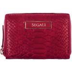 Dámska kožená peňaženka SEGALI 910 19 489 ružová