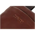 Pánský kožený crossbag SEGALI 2012 koňak