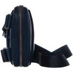 Pánsky kožený crossbag SEGALI 2012  tmavomodrý