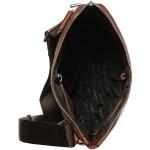 Pánská kožená taška SEGALI BRIJ 343 koňaková