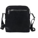 Pánský kožený crossbag SEGALI 346 černý