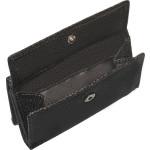 Dámska kožená peňaženka SEGALI 100 čierna/červená WO