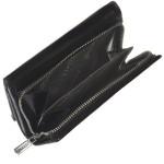 Dámska kožená peňaženka SEGALI 100B čierna/červená
