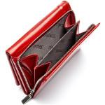 Dámska kožená peňaženka SEGALI 100B červená