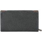 Dámska kožená peňaženka SEGALI 61288 WO čierna/hnedá