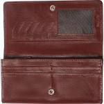 Dámska kožená peňaženka SEGALI 2025A koňaková