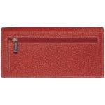 Dámska kožená peňaženka SEGALI 2025A WO červená/čierna