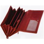Dámska kožená peňaženka SEGALI 28 portwine