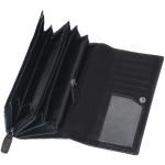 Dámska kožená peňaženka SEGALI 28 čierna