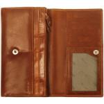 Dámska kožená peňaženka SEGALI 28 koňaková