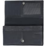 Dámska kožená peňaženka SEGALI 07 čierna