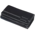 Dámska kožená peňaženka SEGALI 1770 cedar čierna