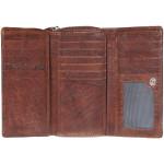 Dámska kožená peňaženka SEGALI 1770 hnedá