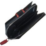 Dámska kožená peňaženka SEGALI 1619 B čierna/červená