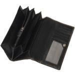 Dámska kožená peňaženka SEGALI 7011 čierna