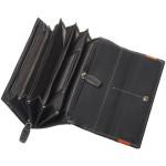 Dámska kožená peňaženka SEGALI 60225 modrá