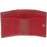 Dámska kožená peňaženka SEGALI 3305 croco červená