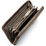 Dámska kožená peňaženka SEGALI 4990 W šedá