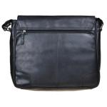 Pánská kožená taška SEGALI 25580 černá