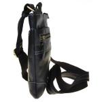 Pánský kožený crossbag SEGALI 25575 černý