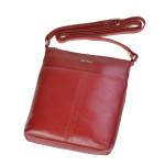 Dámska kožená kabelka SEGALI 7001 červená