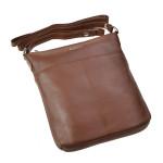 Dámska kožená kabelka SEGALI 7001 koňak