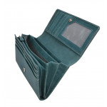 Dámska kožená peňaženka SEGALI 7052 zelená