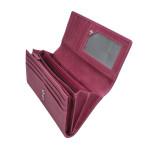 Dámska kožená peňaženka SEGALI 7052 fucsia