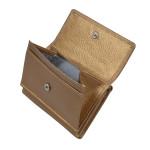 Dámska kožená peňaženka SEGALI 1756 zlatá