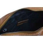 Pánský kožený crossbag SEGALI 1110 koňak