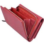 Dámska kožená peňaženka SEGALI 7074 carmine